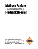 Methuen Fanfare Score Image